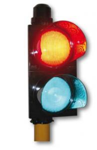 Светофар червен/зелен 100 мм