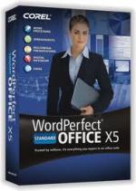 WordPerfect Office X5 Standard Upgrade License ML (1-10)