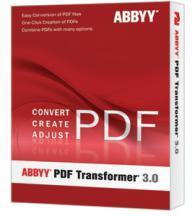 ABBYY PDF Transformer 3.0 Pro/Box/Upgrade