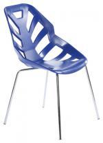 Син дизайнески стол