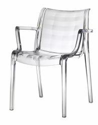 Прозрачен дизайнерски стол