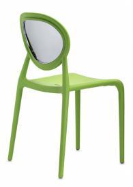 Светло зелен дизайнерски стол