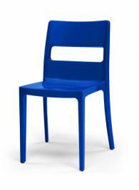 Син модерен стол