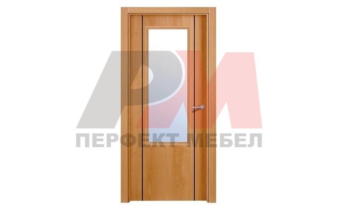 яки  интериорни врати правожилен дъб