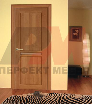 интериорни врати правожилен дъб класни