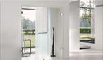 доброкачествени плъзгащи стъклени интериорни врати по поръчка