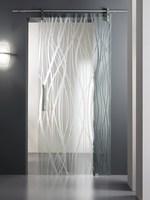издръжливи  плъзгащи стъклени интериорни врати по поръчка