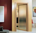 класни интериорни врати със стъкло
