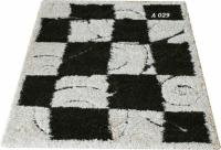 Машинни килими с шахматна шарка 80х150см