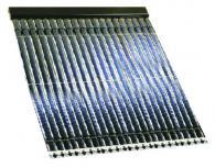 Слънчеви колектори с 15 броя вакуумни тръби
