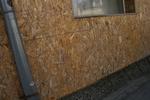 Фасадна дървена облицовка от OSB плоскости
