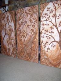 Стилни декорации от изкуствени камъни