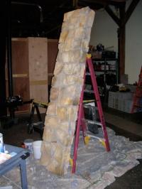 Изработка на стенни облицовки от изкуствен камък