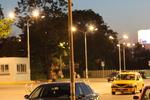 осветление за открит паркинг