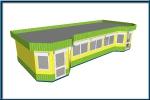 търговски павилион по поръчка 205-3241