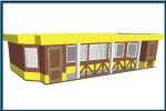 търговски павилион по поръчка 209-3241