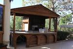 изработка на дървен търговски павилион до 6 кв.м