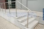изработване по поръчка на парапети метални за стълбища