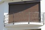 Парапети за тераси от ковано желязо