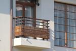 балконски парапети по поръчка от дърво и метал