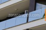 изграждане на парапет от стъкло за тераса