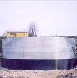 доставка на сглобяеми резервоари за съхранение на вода