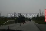 Полагане на пътна маркировка съгласно БДС