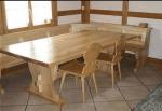 дървена маса за механа