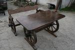 битова маса с една пейка