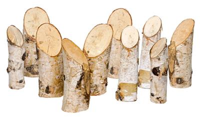 Дървени пънчета L