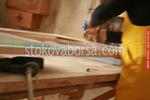 интериорна дървена врата
