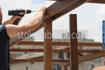 дървена конструкция по поръчка