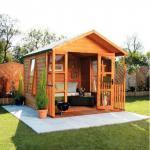 Дървени градински беседки