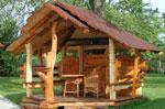 Дървени беседки за двор