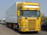 Превозване на стоки с товарен автомобил Scania