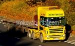 Превозване на стоки и товари с камион Scania