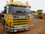Превозване на извънгабаритни товари с ТИР Scania