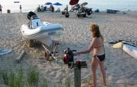 Лебедка за теглене на водни съоръжения