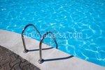 изработка на иноксова стълба за басейн