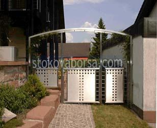 иноксова портална врата