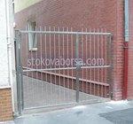 иноксова портална врата по поръчка