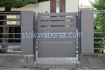 портална врата от инокс