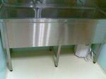 кухненски умивалник от неръждаема стомана