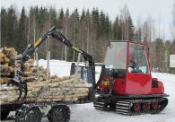 Щипка за манипулиране на дървени трупи
