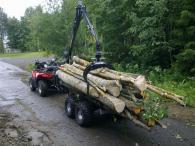 Комплект оборудване за дърводобив