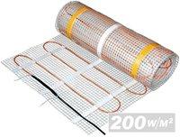 Подово отопление -  200W/m2 - 0.5m x 1m