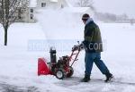 Снегопочисване със снегорини
