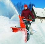 Снегопочисване с роторен снегорин