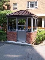Изграждане на зидани контролно пропускателни пунктове