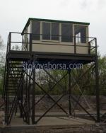Метална охранителна конструкция